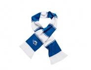 Balkenschal blau und weiß