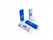 Feuerzeug blau/weiß